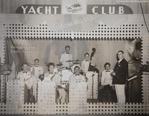 Beaumaris Yacht Club Dance Band  (summer 1940)