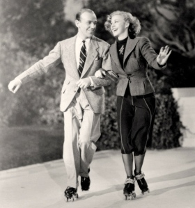 "Fred and Ginger in their movie, ""Shall We Dance"" (1937)"