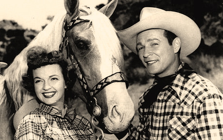 Roy, Dale and Trigger   (1950s)
